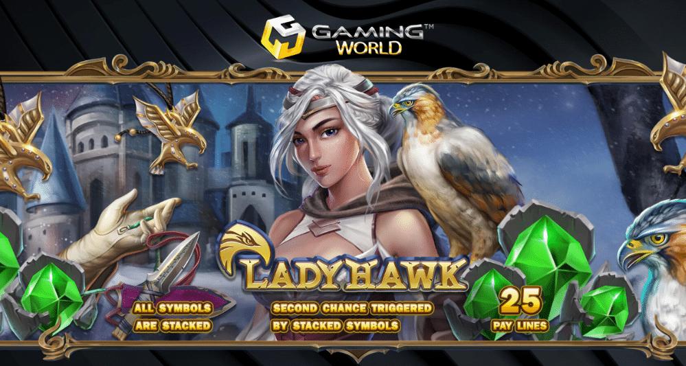 รีวิวเกมสล็อต Lady Hawk